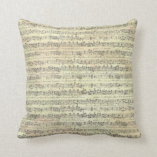 "Music Note Decorative Throw Pillow 16"" x 16"""
