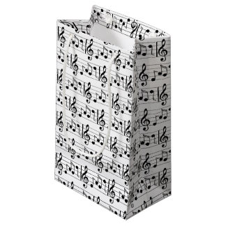 Music Note Gift Bag