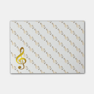 Music Note Gold Vintage