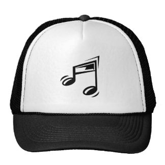 Music Note Mesh Hats