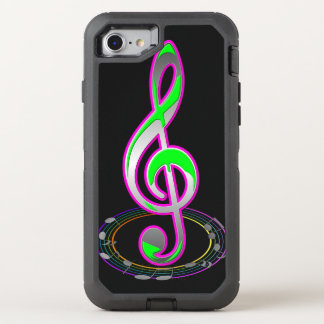 Music Note OtterBox Defender iPhone 8/7 Case