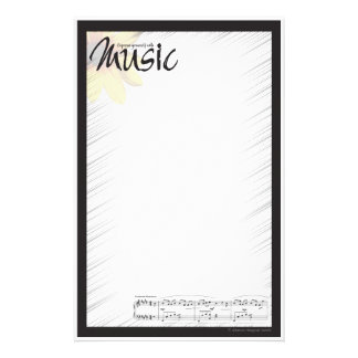 Music Note Paper Stationery Paper