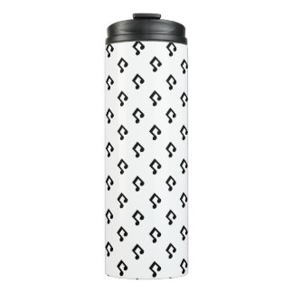 Music Note Pattern Tumbler