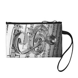 music note sheets purse