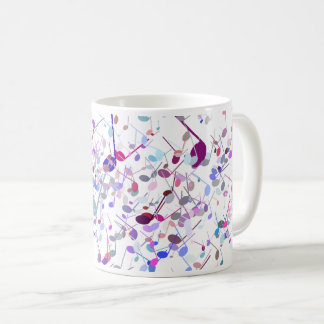 Music Note Splatter Mug