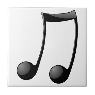 music note symbol tile