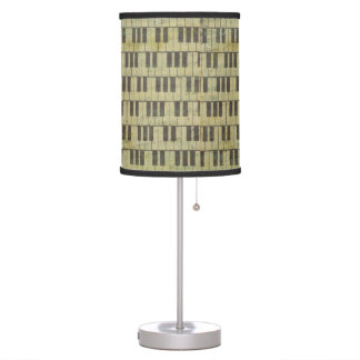 Music Note Table Lamp Music Theme Piano key