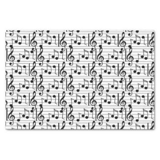 Music Note Tissue Paper