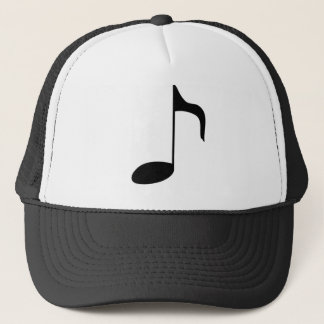 music note trucker hat