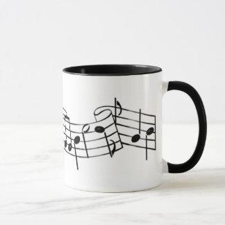 music notes 1 mug