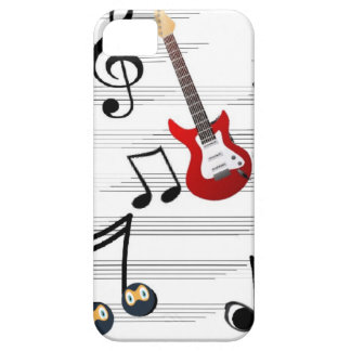 Music Notes allegory iPhone 5 Case
