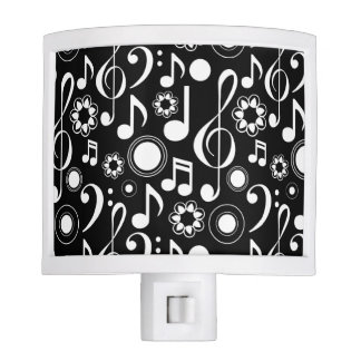 Music Notes and Clefs Night Lights