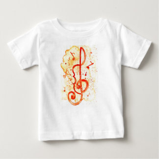 Music Notes Art 2 Baby T-Shirt