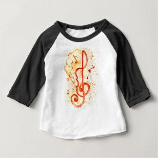Music Notes Art 2 Baby T-Shirt