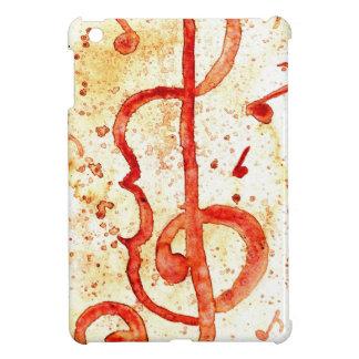 Music Notes Art 2 iPad Mini Covers