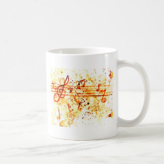 Music Notes Art Coffee Mug