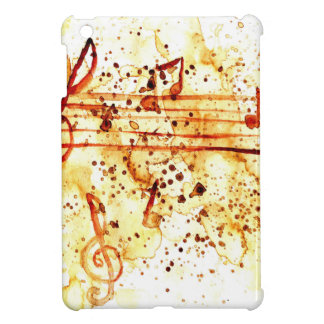 Music Notes Art Cover For The iPad Mini