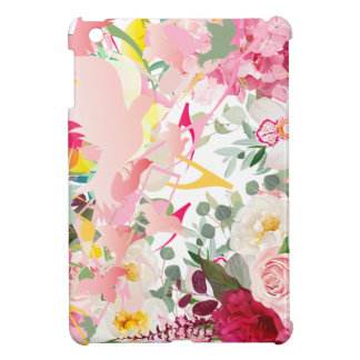 Music Notes, Birds and Flowers Case For The iPad Mini