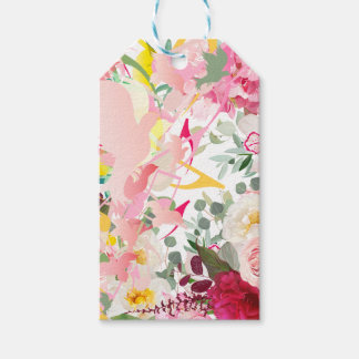 Music Notes, Birds and Flowers Pack Of Gift Tags