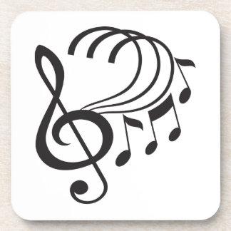 Music Notes Coaster