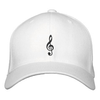 Music Notes Embroidered Cap Embroidered Hat