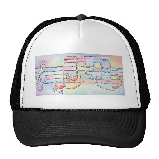 Music Notes Hats
