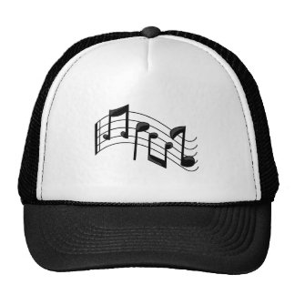 Music Notes Hat