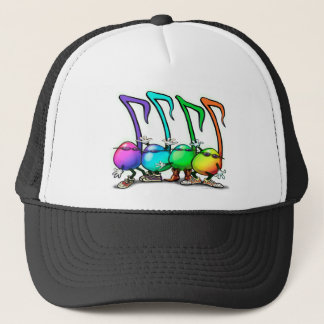 Music Notes Party Trucker Hat