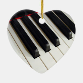 Music Notes Piano Keyboard Ornament