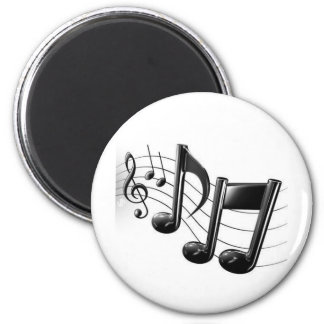 Music Notes Refrigerator Magnets