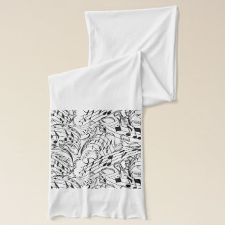 MUSIC NOTES -SCARF SCARF