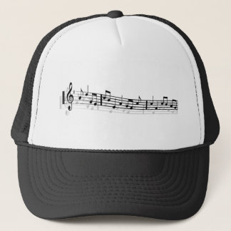 Music Notes Trucker Hat