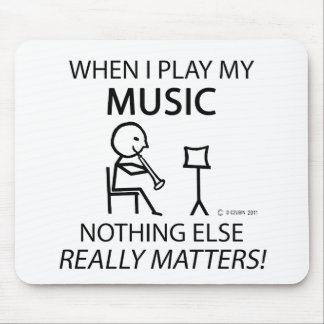 Music Nothing Else Matters Mousepads