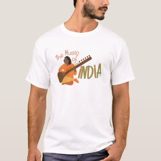 Music Of India T-Shirt