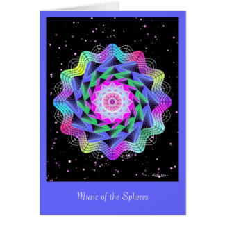 Music of the Spheres Card