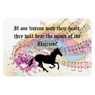 Music Of The Unicorn Magnet