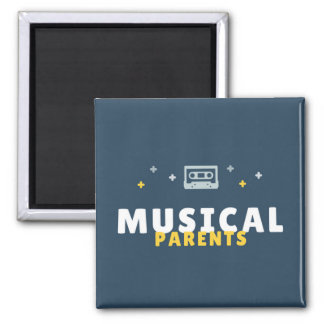 Music Parents Magnet: Show Your Musical Pride Magnet