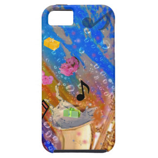 Music party celebration case for the iPhone 5