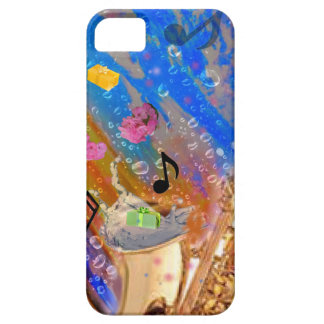 Music party celebration iPhone 5 cover