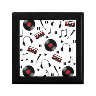 Music pattern trinket boxes