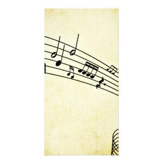 Music Photo Card