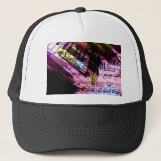 music, piano decor (9) trucker hat