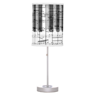 music piano keyboard design table lamp