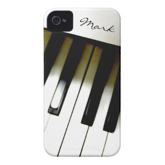 Music Piano Keyboard Personalized iPhone 4 Case