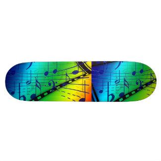 Music Piano Keys Notes Teacher Destiny Instruments Skate Board Decks
