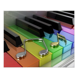 Music Piano Poster