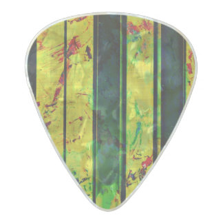 Music Piano Style Pearl Celluloid Guitar Pick