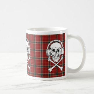 Music Piracy Is A Crime Coffee Mug