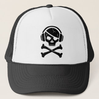 Music Pirate Piracy anti-riaa icon Trucker Hat