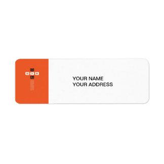 Music Play Return Address Label